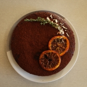 Flourless Chilli Almond Orange Chocolate Cake