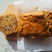 E-Z Indulgence - Zucchini Maple Yogurt Pecan Bread