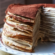 Espresso your love - Tiramisu Mille Crepe Cake