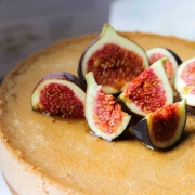 Afternoon Delight - Earl Grey Honey Lemon Fig Mascarpone Cheesecake