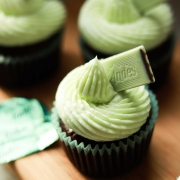 Minty Breeze - Andes Mint Chocolate Cupcake