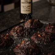 Drunken Morning -  Coffee Liqueur Double Dark Chocolate Hazelnut Muffin